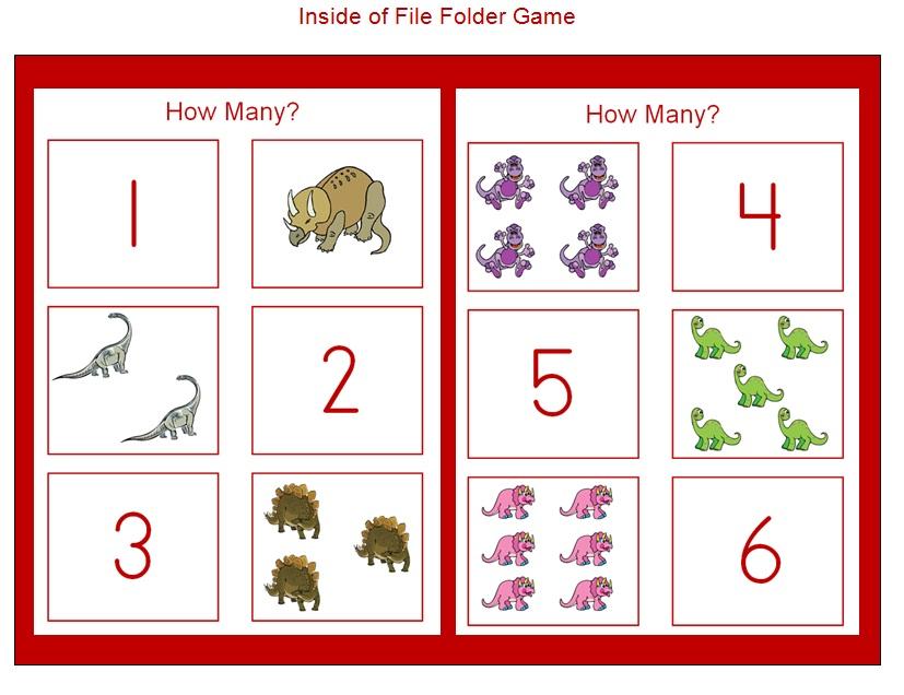 3 Learn Curriculum: How Many Dinosaurs?