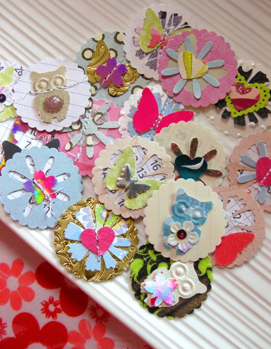Rina Loves: Handmade Paper Embellishments