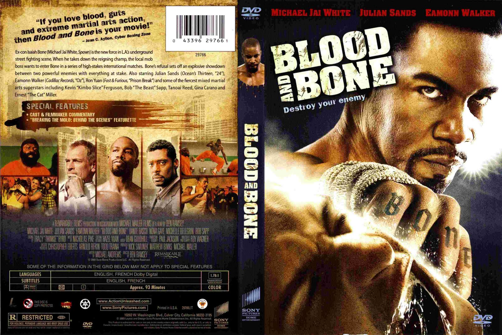 Blood And Bone (2009) | watch movies online Free ...