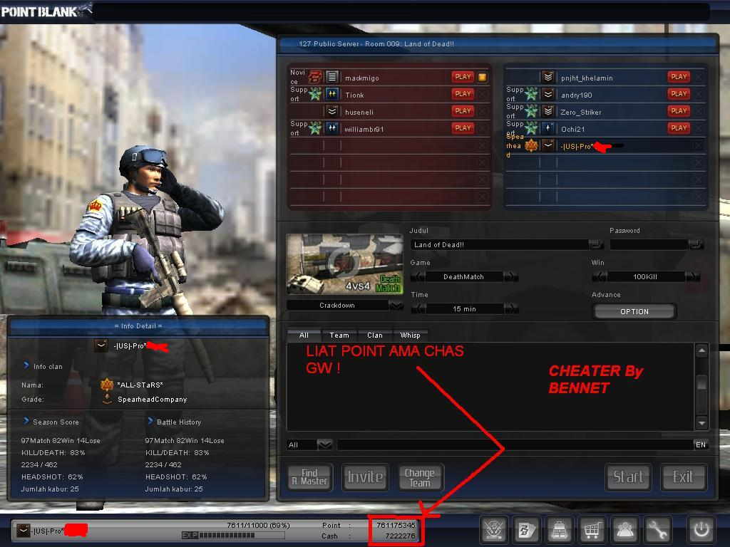 Download image Screen Shot Cheat Pointblank Indonesia Terbaru PC ...