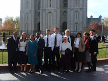 In front of SLC Temple