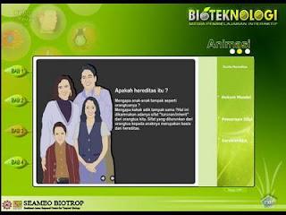 BMPI bioteknologi pembelajaran interaktif SEAMEO Biotrop