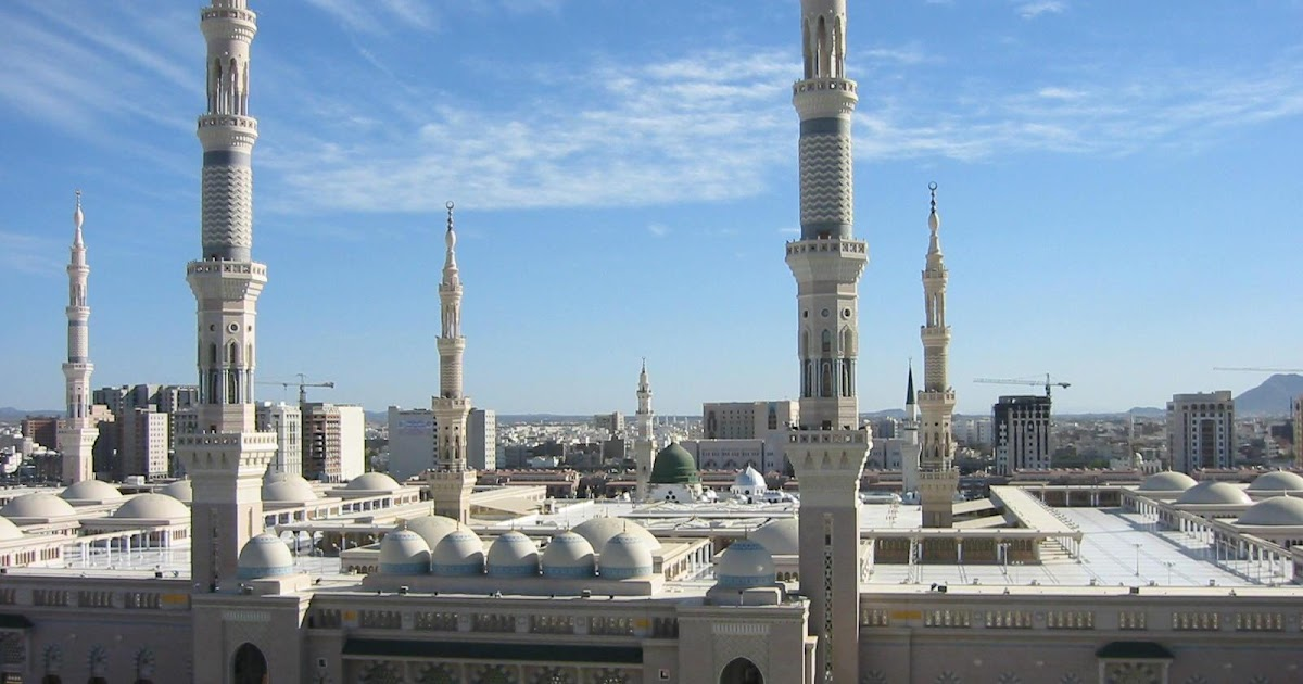 Madina in Pictures: Madina Munawwarah-Masjid-e-Nabvi