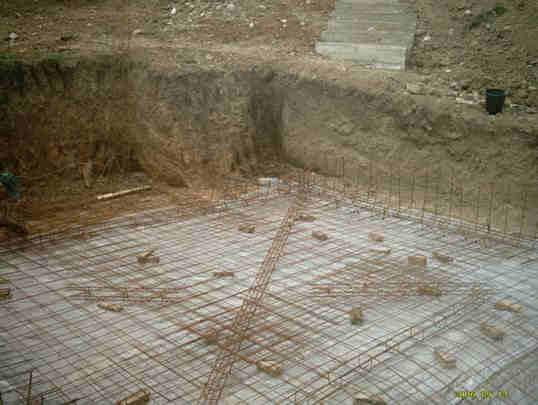 Construction de la nouvelle ecole priv e de st georges des for Quel treillis soude pour dalle terrasse