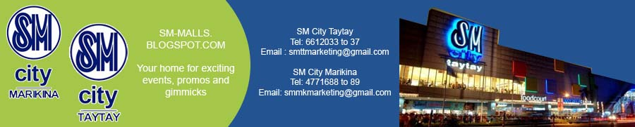 SM Supermalls | SM City Taytay | SM City Marikina