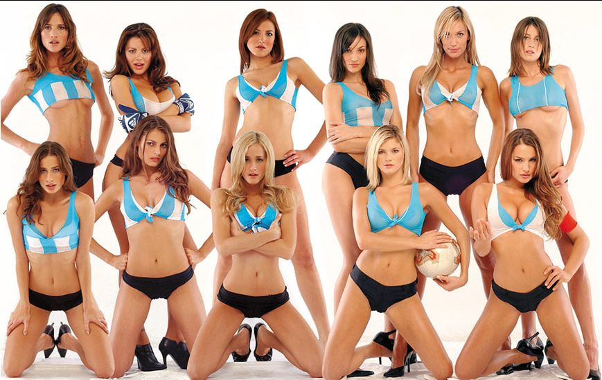 Hot Argentina Girls Soccer