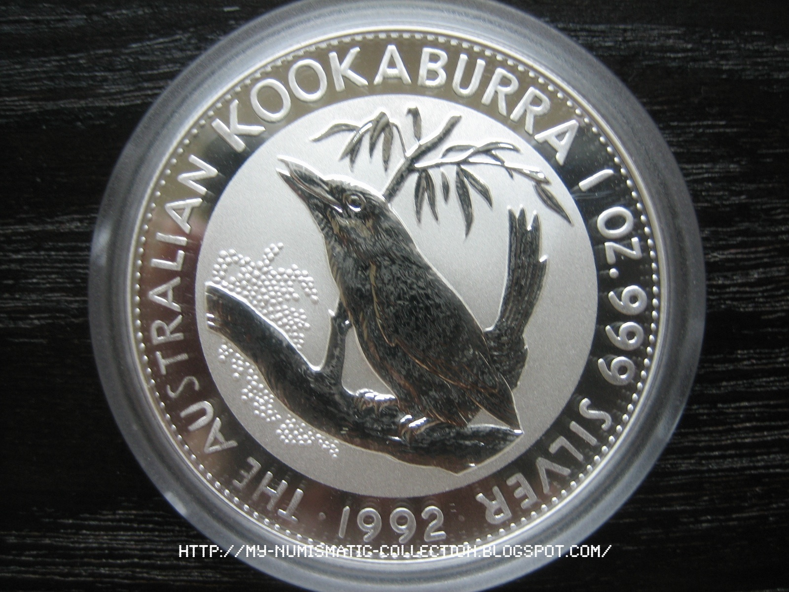 Numismatic Collection 1992 Australian Silver Kookaburra