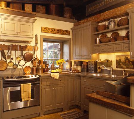 Bonita locura country hasta en la cocina - Cocinas acogedoras ...