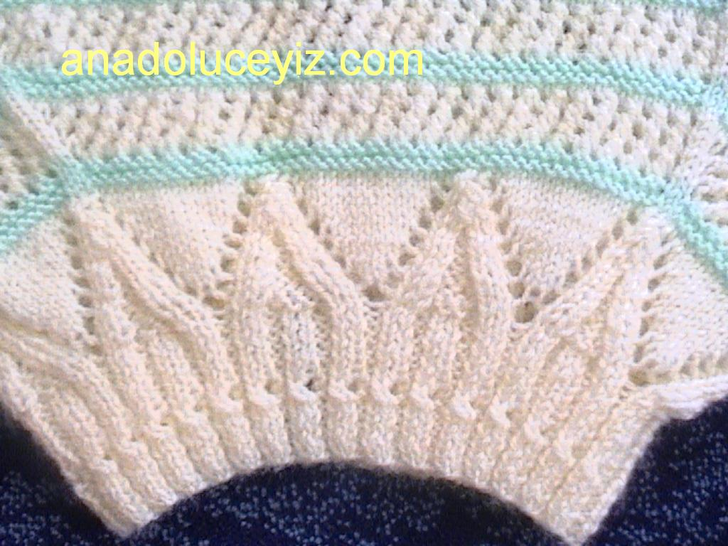 Knitting And Crochet Patterns : BABY LACY KNIT CROCHET PATTERNS Crochet Patterns