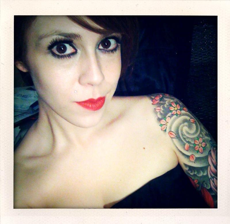 Tattoo location Calla lillies inner arm
