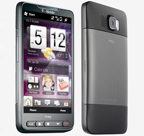HTC T-Mobile HD2 User Manual
