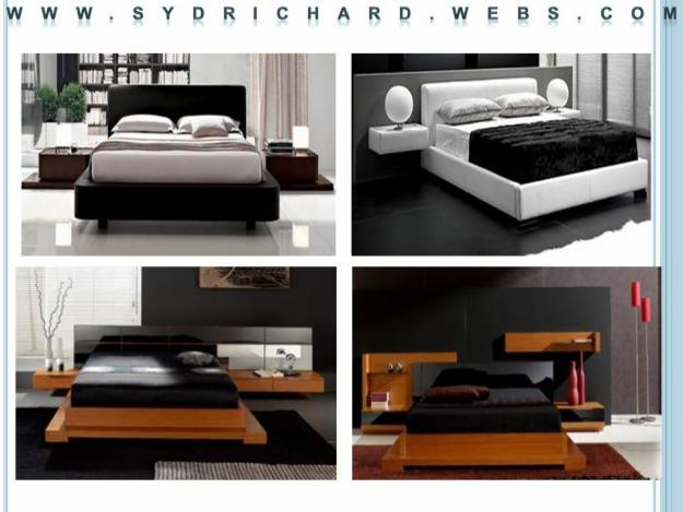 Carpinteria rangel recamaras for Fotos muebles minimalistas
