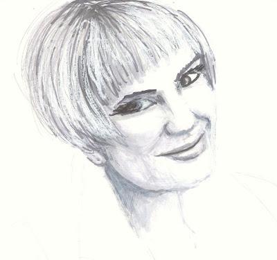 drawing of The Glamorai by Liz Blair