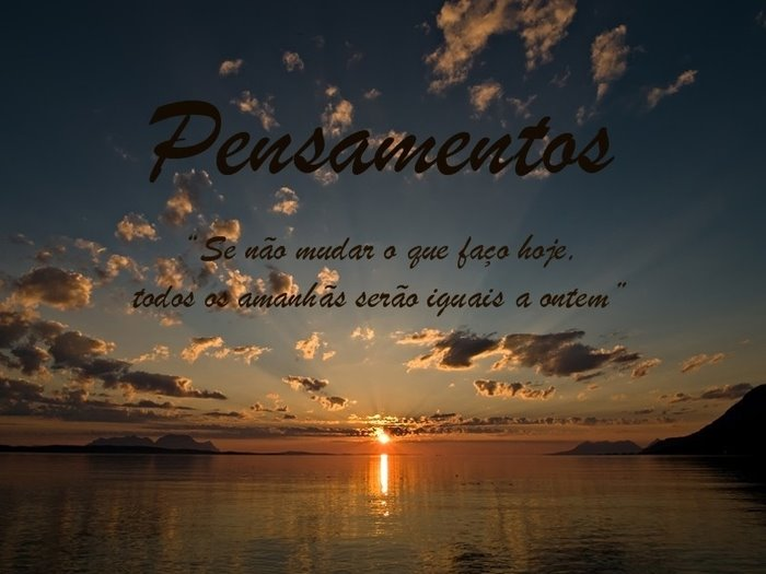 PENSAMENTOS