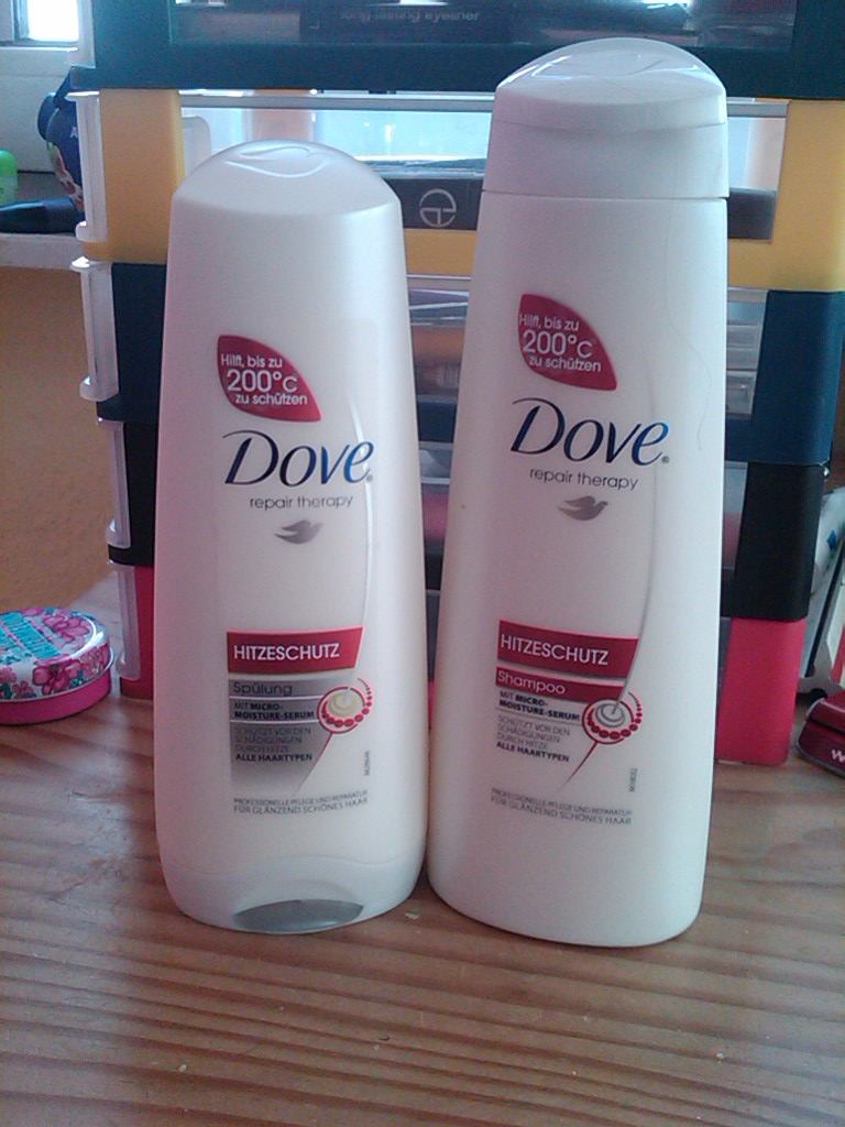 beauty junkie ich teste f r euch die dove repair therapy shampoo. Black Bedroom Furniture Sets. Home Design Ideas
