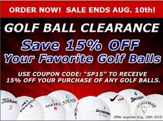 Golfballs com coupon code