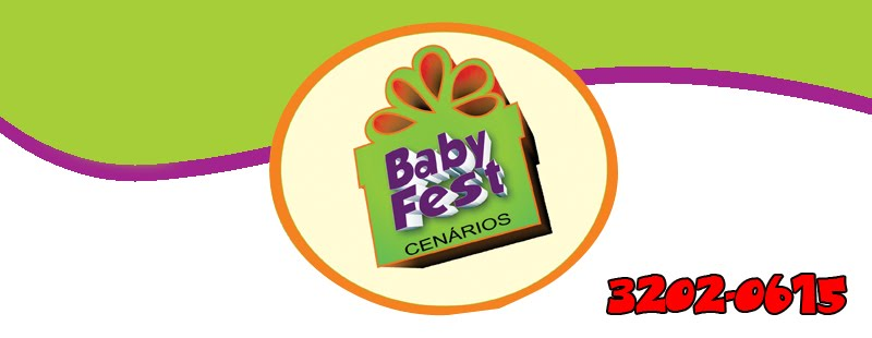 Ababy Fest - Cenarios 3d - mesas tematicas - lembranças - decoracao