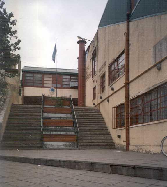 Entrada al colegio