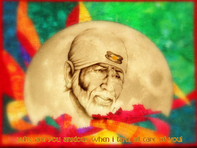 Sai Baba pencil portraits