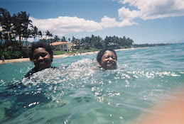 Evyn and Nicky in Hawaii