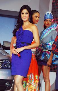 Katrina kaif With Audi Q5