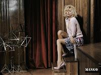 Karolina Kurkova in Mango Ads