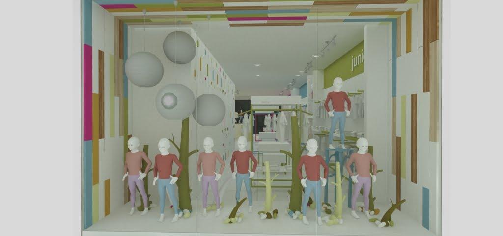 CUBO 3 taller de diseño: Tienda para Articulos de Bebe y Niños