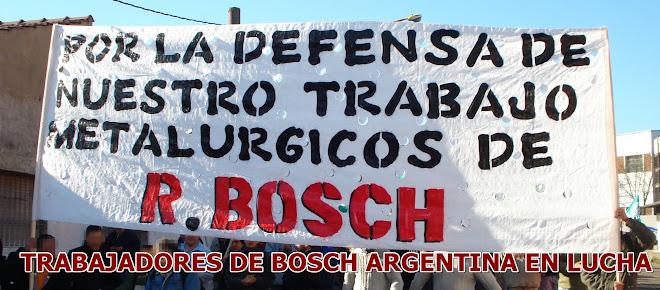 Trabajadores de Bosch Argentina