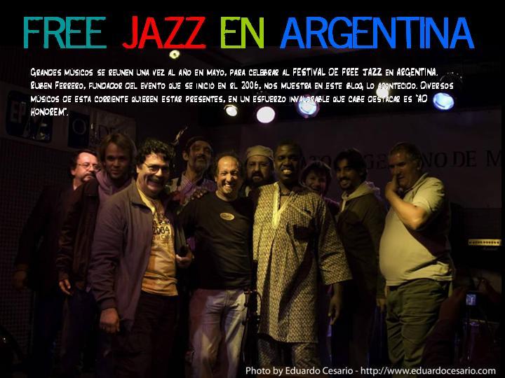 FREE JAZZ FESTIVAL EN ARGENTINA