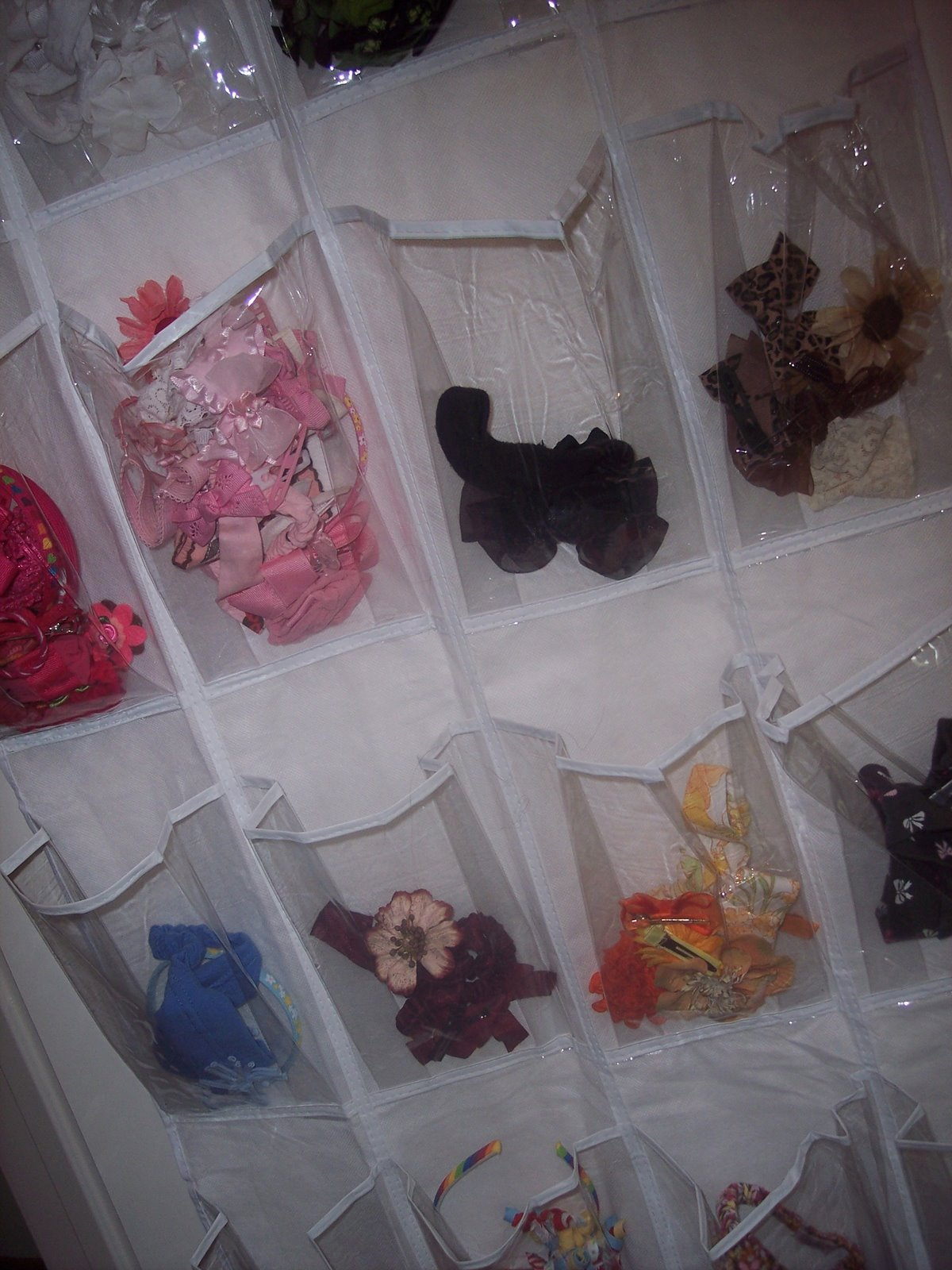 How to organize hair bows - Even Better This Thing Was Like 8 Bucks Can T Beat That Now I Know What Colors I Need More Of What Colors We Have Etc Besides Organizing Hair Bows And