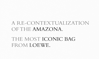 Loewe's Amazona Bag Celebrates Its 35th Anniversary
