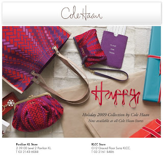 Cole Haan Holiday 2009 Collection In Stores Now!