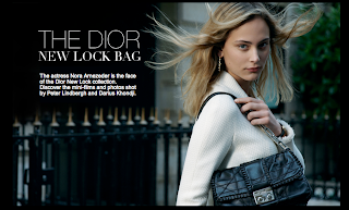 Introducing: The New Dior Lock Bag!