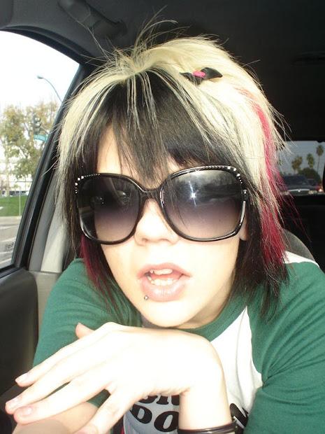 emo stuff girls hair styles