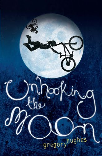 Greg Hughes won the Booktrust Teen Prize for Unhooking the Moon! Yee hay!