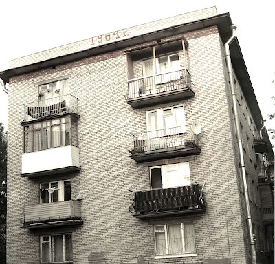 хрущевка, квартиры шестидесятых, дома
