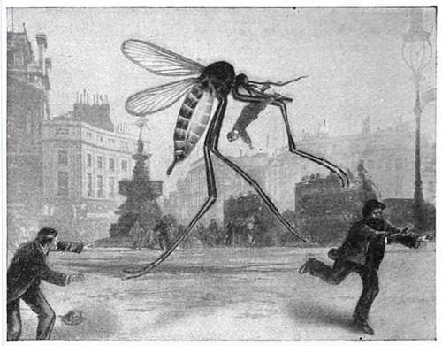 гигантские насекомые в лондоне, ретро ужасы, кошмар англичанина, мутанты