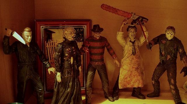 слэшеры, серийные убийцы, майкл майерс, фредди крюгер, кожаное лицо, восставший из ада, фильмы ужасов