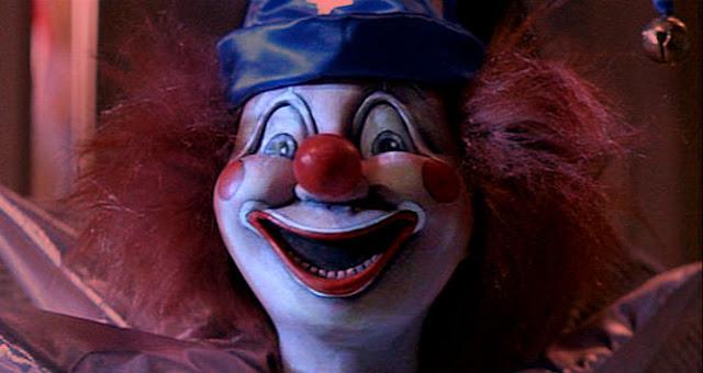 страшный клоун, ужасы, полтергейст