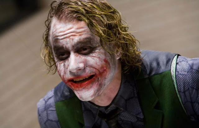 страшный клоун, ужасы, джокер, хит леджер, бэтмен