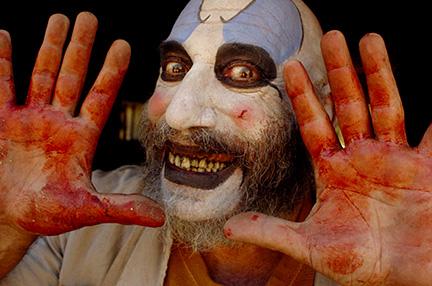 капитан сполдинг, дом 1000 трупов, роб зомби, маньяк, страшный клоун, ужасы