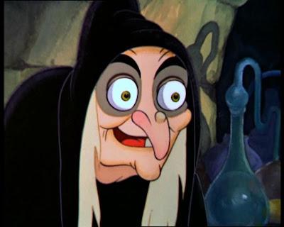 страшные персонажи из мультфильмов, страшные мультики, ведьма, белоснежка и семь гномов, дисней