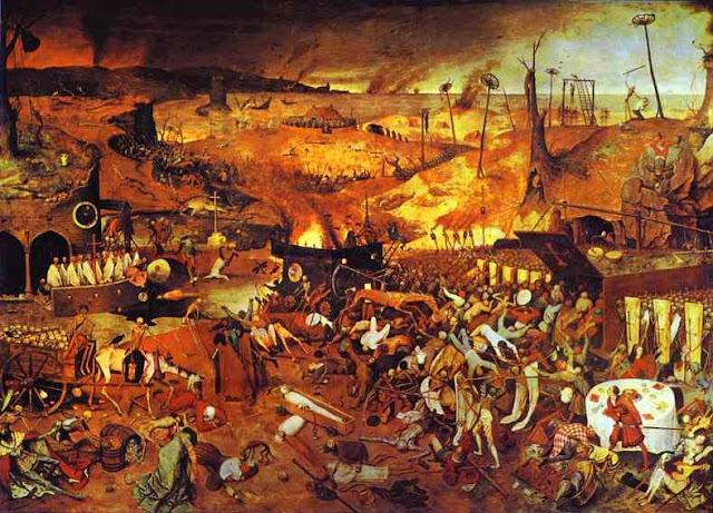 триумф смерти, питер брейгель старший, пугающие картины, ужасы