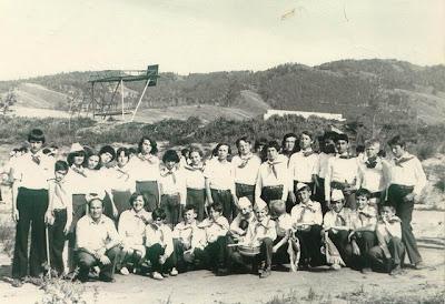 пионерский лагерь, винтаж, ретро, шестидесятые