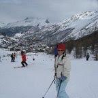 Saas Fee - esquiando