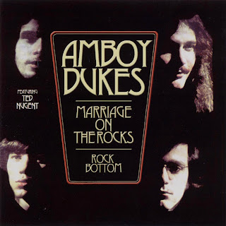 Cover Album of Amboy Dukes - Marriage On The Rocks (1970)