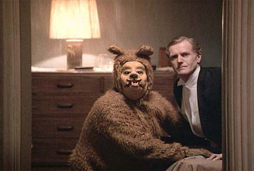 the mascots from the movie the shining