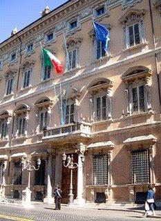 Domus villae et horti palazzo madama for Sede senato italiano