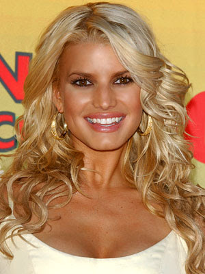 Jessica Simpson Long Curly Hairstyles