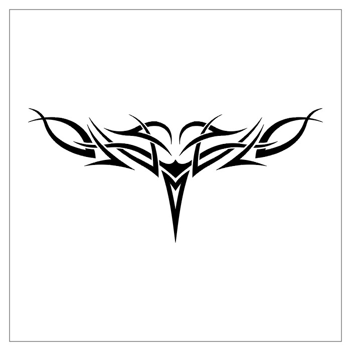tribal cross tattoo designs. girlfriend Tribal Cross Tattoo